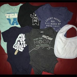 Other - Lot baby boy onesies bodysuits 0-3 3-6 months